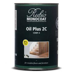Rubio Monocoat Oil Plus 2C Cotton White (1L) Comp. A